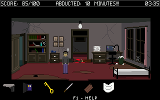 Abducted: 10 Minutes Walkthrough
