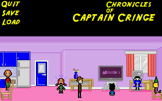 Chronicles Of Captain Cringe Walkthrough