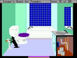 Cougar's Quest For Freedom Walkthrough