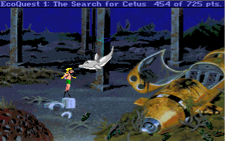 Ecoquest: The Search For Cetus Walkthrough