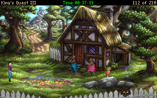 King's Quest III Redux: To Heir is Human Walkthrough
