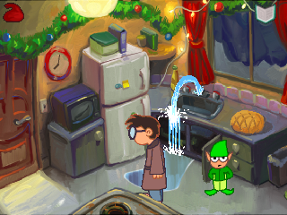 Christmas Quest 2: The Yuletide Flows In Walkthrough