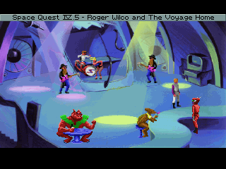 Space Quest IV.5: Roger Wilco And The Voyage Home Walkthrough