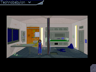 Technobabylon Part 1: The prisoner of fate Walkthrough